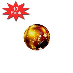 Advent Star Christmas 1  Mini Buttons (10 pack)