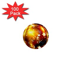 Advent Star Christmas 1  Mini Magnets (100 pack)