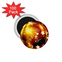 Advent Star Christmas 1.75  Magnets (100 pack)