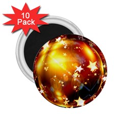 Advent Star Christmas 2.25  Magnets (10 pack)
