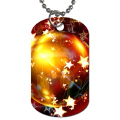 Advent Star Christmas Dog Tag (Two Sides)
