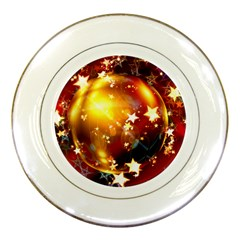 Advent Star Christmas Porcelain Plates