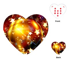 Advent Star Christmas Playing Cards (heart)
