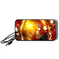 Advent Star Christmas Portable Speaker (Black)