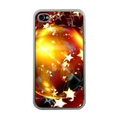 Advent Star Christmas Apple Iphone 4 Case (clear)