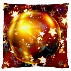 Advent Star Christmas Large Cushion Case (two Sides)