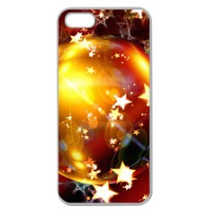 Advent Star Christmas Apple Seamless iPhone 5 Case (Clear)