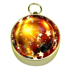 Advent Star Christmas Gold Compasses