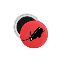 Air Plane Boeing Red Black Fly 1 75  Magnets