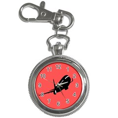 Air Plane Boeing Red Black Fly Key Chain Watches
