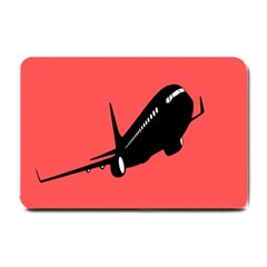 Air Plane Boeing Red Black Fly Small Doormat
