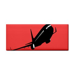 Air Plane Boeing Red Black Fly Cosmetic Storage Cases