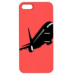Air Plane Boeing Red Black Fly Apple Iphone 5 Hardshell Case With Stand