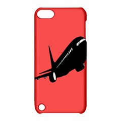 Air Plane Boeing Red Black Fly Apple Ipod Touch 5 Hardshell Case With Stand