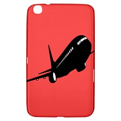 Air Plane Boeing Red Black Fly Samsung Galaxy Tab 3 (8 ) T3100 Hardshell Case