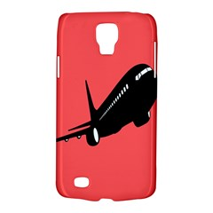 Air Plane Boeing Red Black Fly Galaxy S4 Active