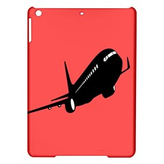 Air Plane Boeing Red Black Fly Ipad Air Hardshell Cases