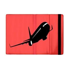 Air Plane Boeing Red Black Fly Ipad Mini 2 Flip Cases