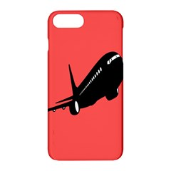 Air Plane Boeing Red Black Fly Apple Iphone 7 Plus Hardshell Case