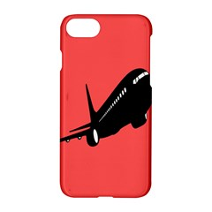 Air Plane Boeing Red Black Fly Apple Iphone 7 Hardshell Case