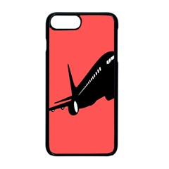 Air Plane Boeing Red Black Fly Apple Iphone 7 Plus Seamless Case (black)