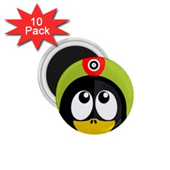 Animals Penguin 1 75  Magnets (10 Pack)