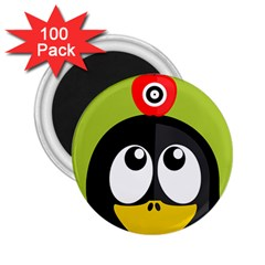 Animals Penguin 2 25  Magnets (100 Pack)