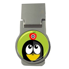 Animals Penguin Money Clips (round)