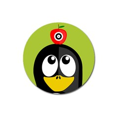 Animals Penguin Magnet 3  (round)
