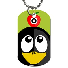 Animals Penguin Dog Tag (one Side)