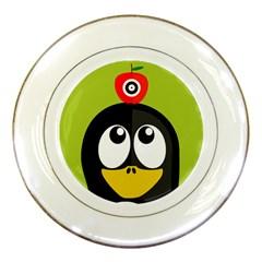 Animals Penguin Porcelain Plates