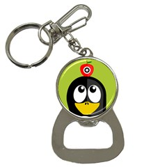 Animals Penguin Button Necklaces