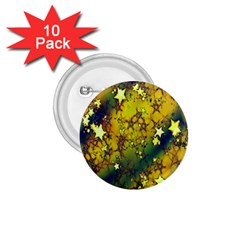Advent Star Christmas 1.75  Buttons (10 pack)