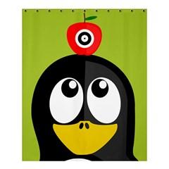 Animals Penguin Shower Curtain 60  X 72  (medium)