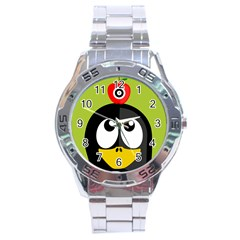 Animals Penguin Stainless Steel Analogue Watch