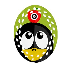 Animals Penguin Ornament (oval Filigree)