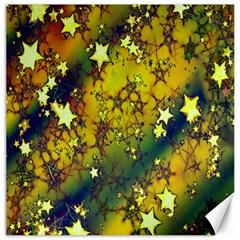 Advent Star Christmas Canvas 20  x 20