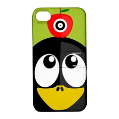 Animals Penguin Apple Iphone 4/4s Hardshell Case With Stand