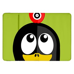 Animals Penguin Samsung Galaxy Tab 8.9  P7300 Flip Case