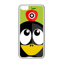 Animals Penguin Apple Iphone 5c Seamless Case (white)