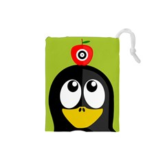 Animals Penguin Drawstring Pouches (small)