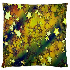 Advent Star Christmas Large Cushion Case (One Side)