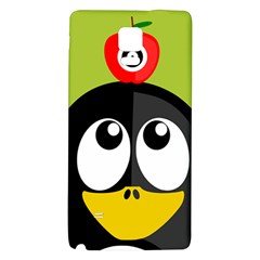 Animals Penguin Galaxy Note 4 Back Case