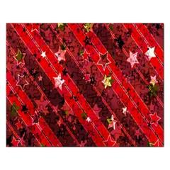 Advent Star Christmas Poinsettia Rectangular Jigsaw Puzzl