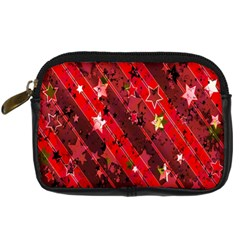 Advent Star Christmas Poinsettia Digital Camera Cases