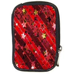 Advent Star Christmas Poinsettia Compact Camera Cases