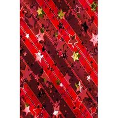 Advent Star Christmas Poinsettia 5.5  x 8.5  Notebooks