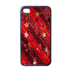 Advent Star Christmas Poinsettia Apple iPhone 4 Case (Black)