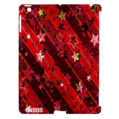 Advent Star Christmas Poinsettia Apple iPad 3/4 Hardshell Case (Compatible with Smart Cover)