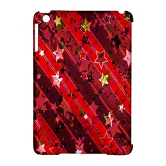 Advent Star Christmas Poinsettia Apple iPad Mini Hardshell Case (Compatible with Smart Cover)